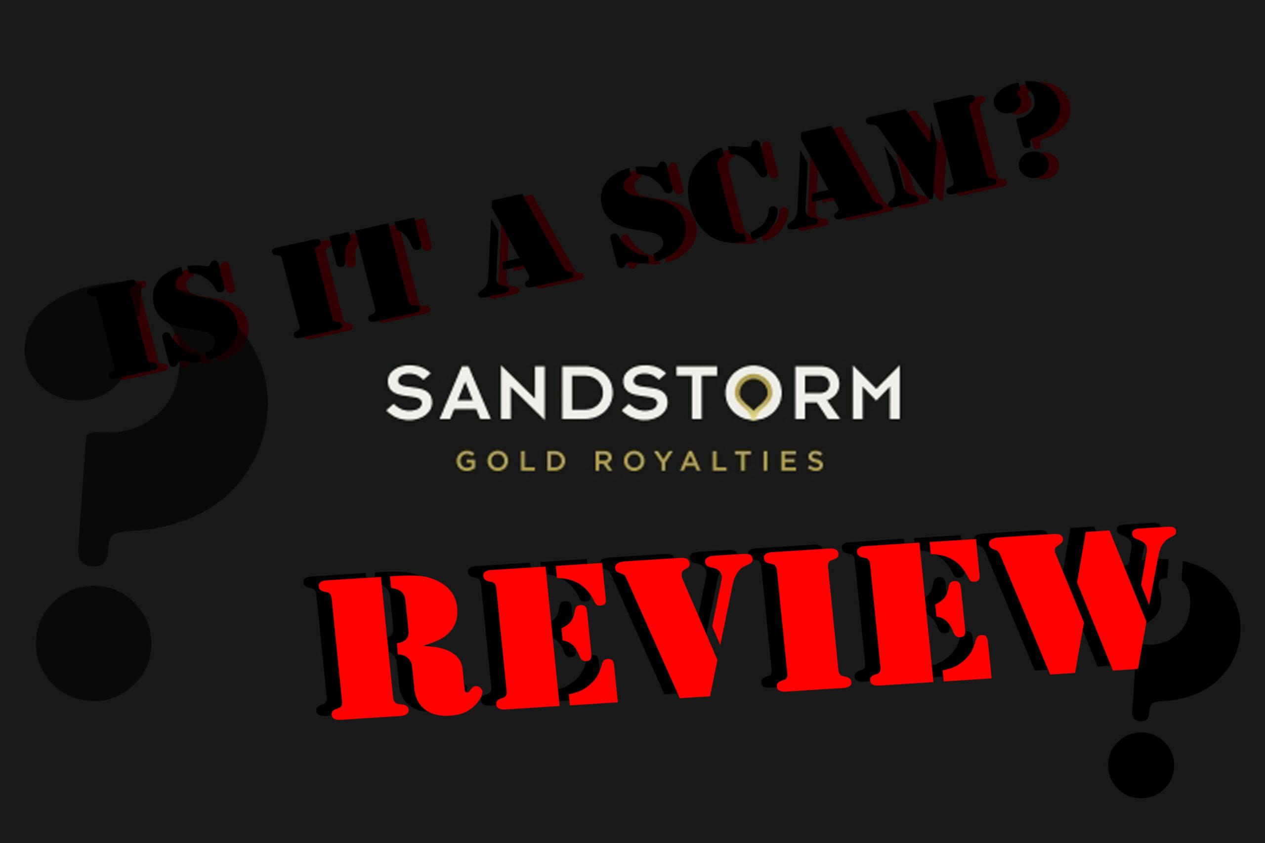Sandstorm Gold Ltd. Review